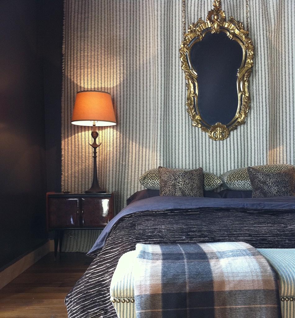 Montreux, Switzerland bedroom // Huntley & Co.