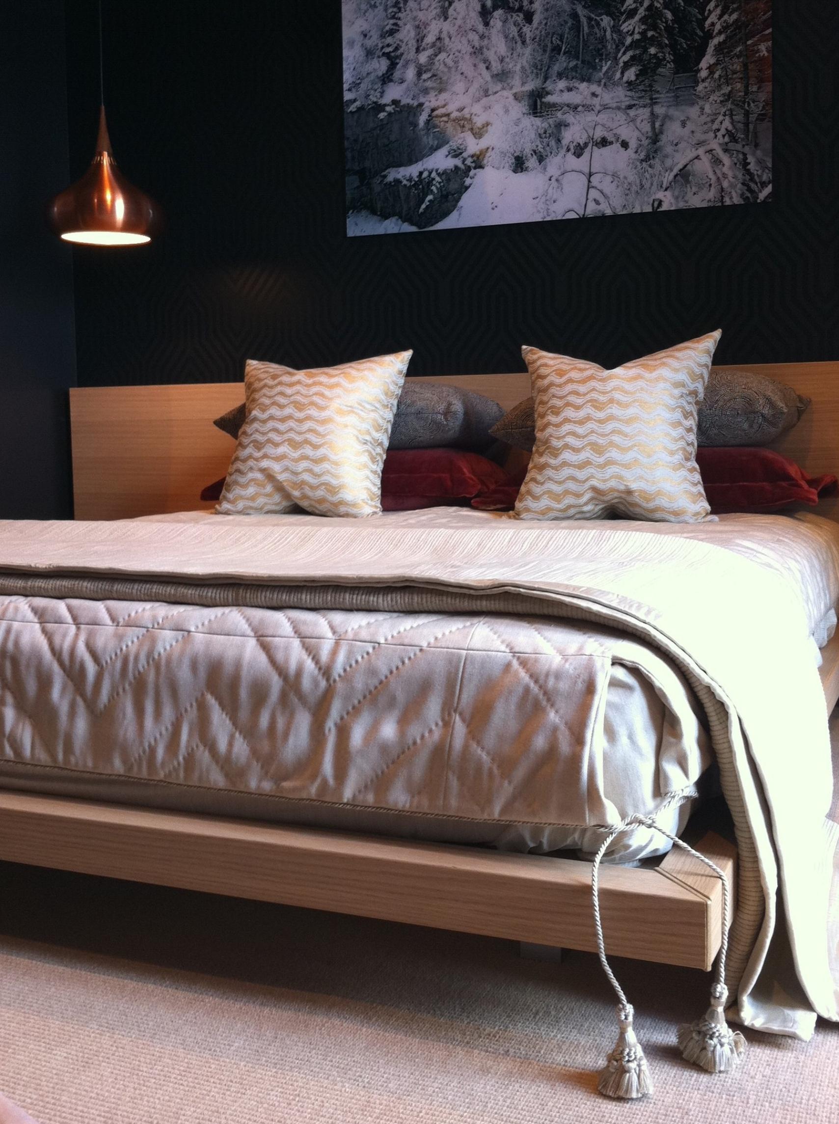 bedroom Switzerland // Huntley & Co.