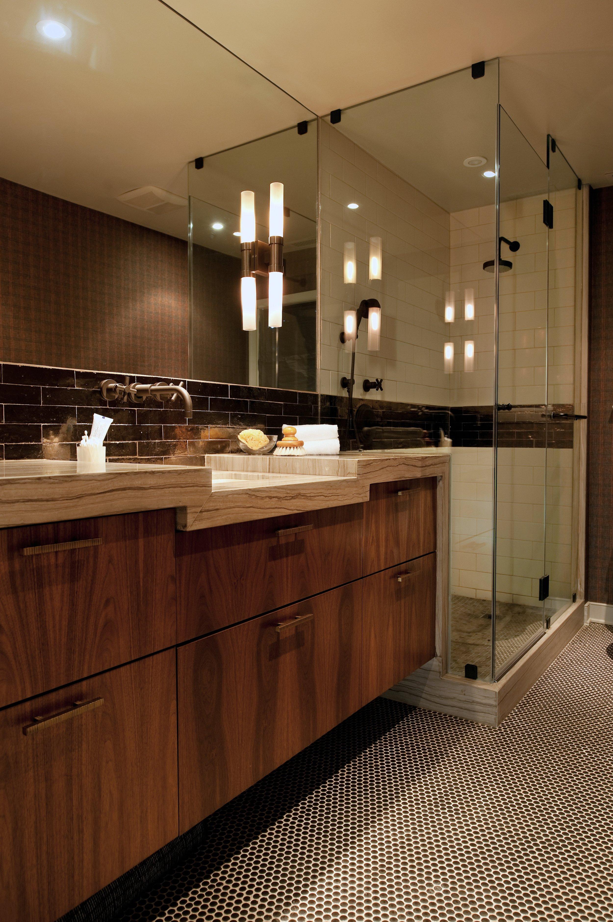 Maryland bathroom for him // Huntley & Co.
