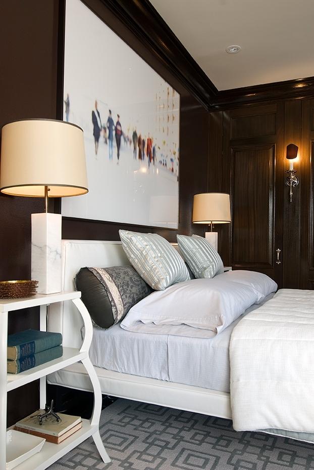 contemporary bedroom Georgetown // Huntley & Co.