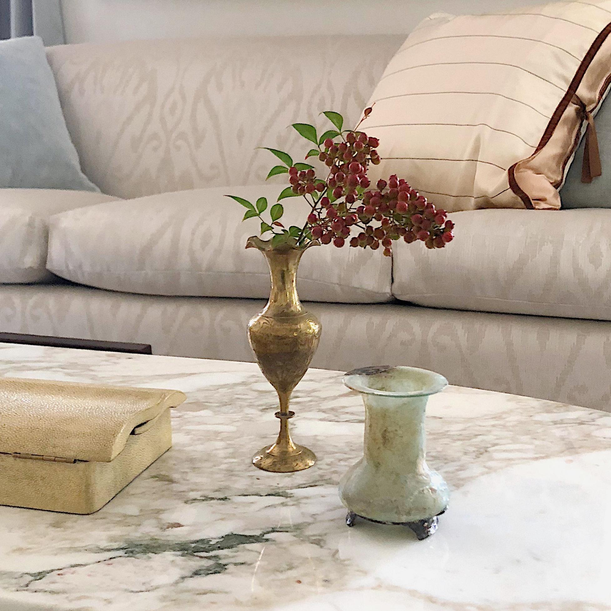 elegant Maryland living room // Tricia Huntley