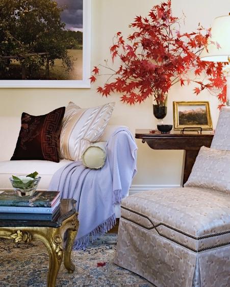 Arlington living room detail // Huntley & Co.