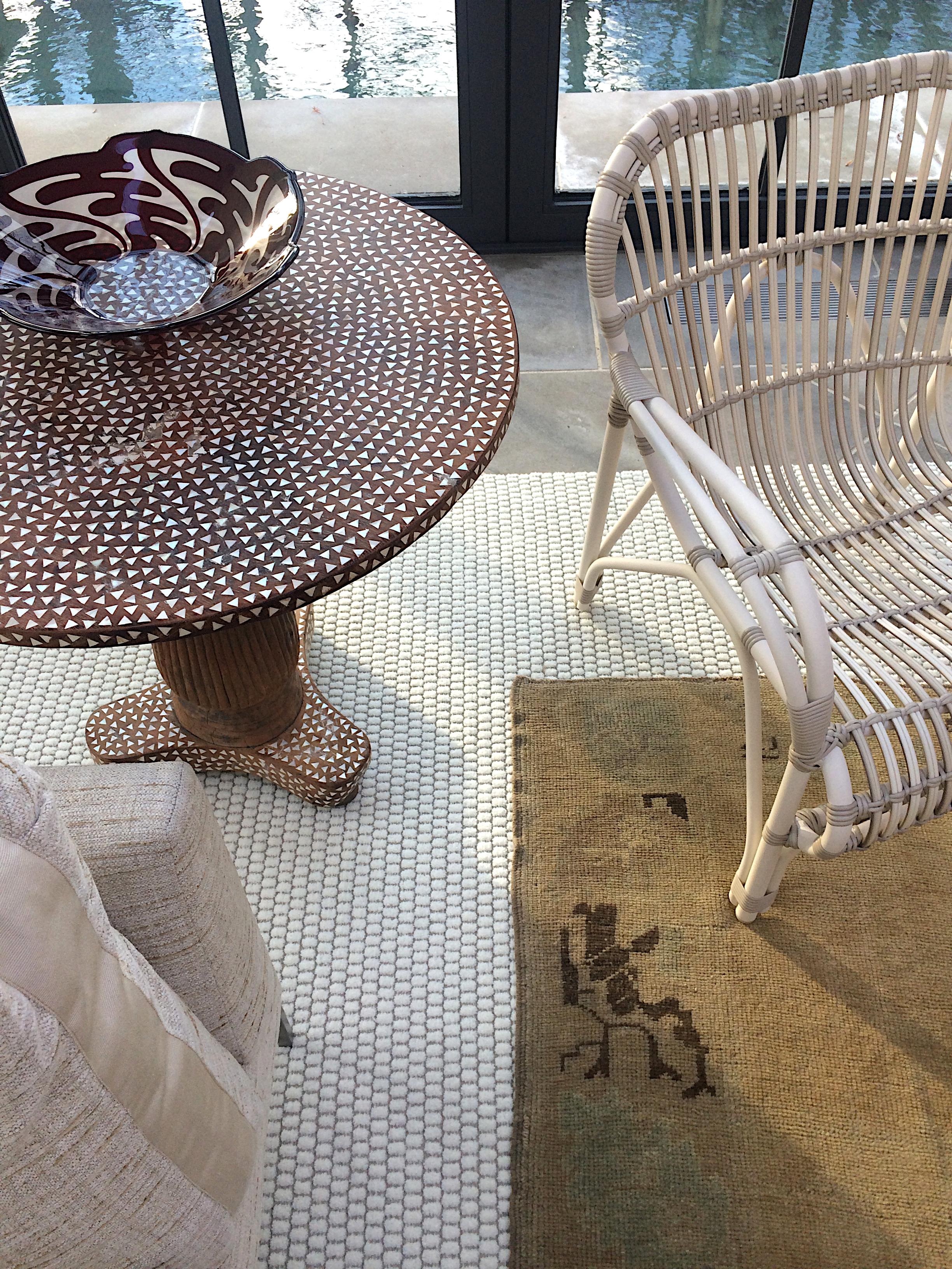 Edgemoor sunroom detail // Huntley & Co.