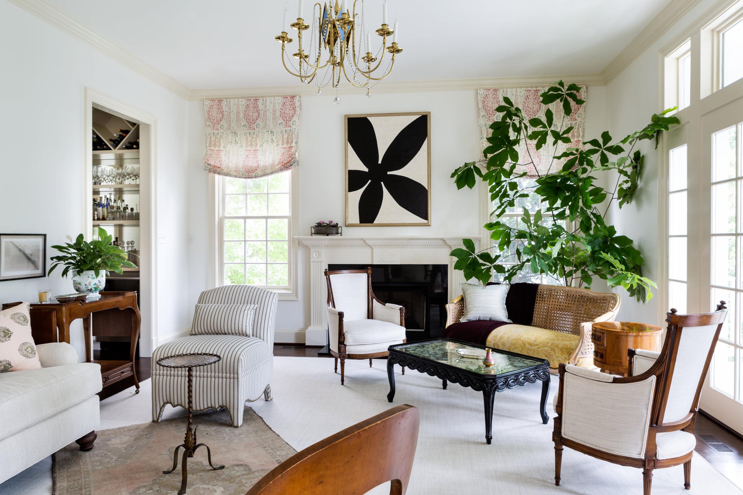 Berkley living room // Huntley & Co.