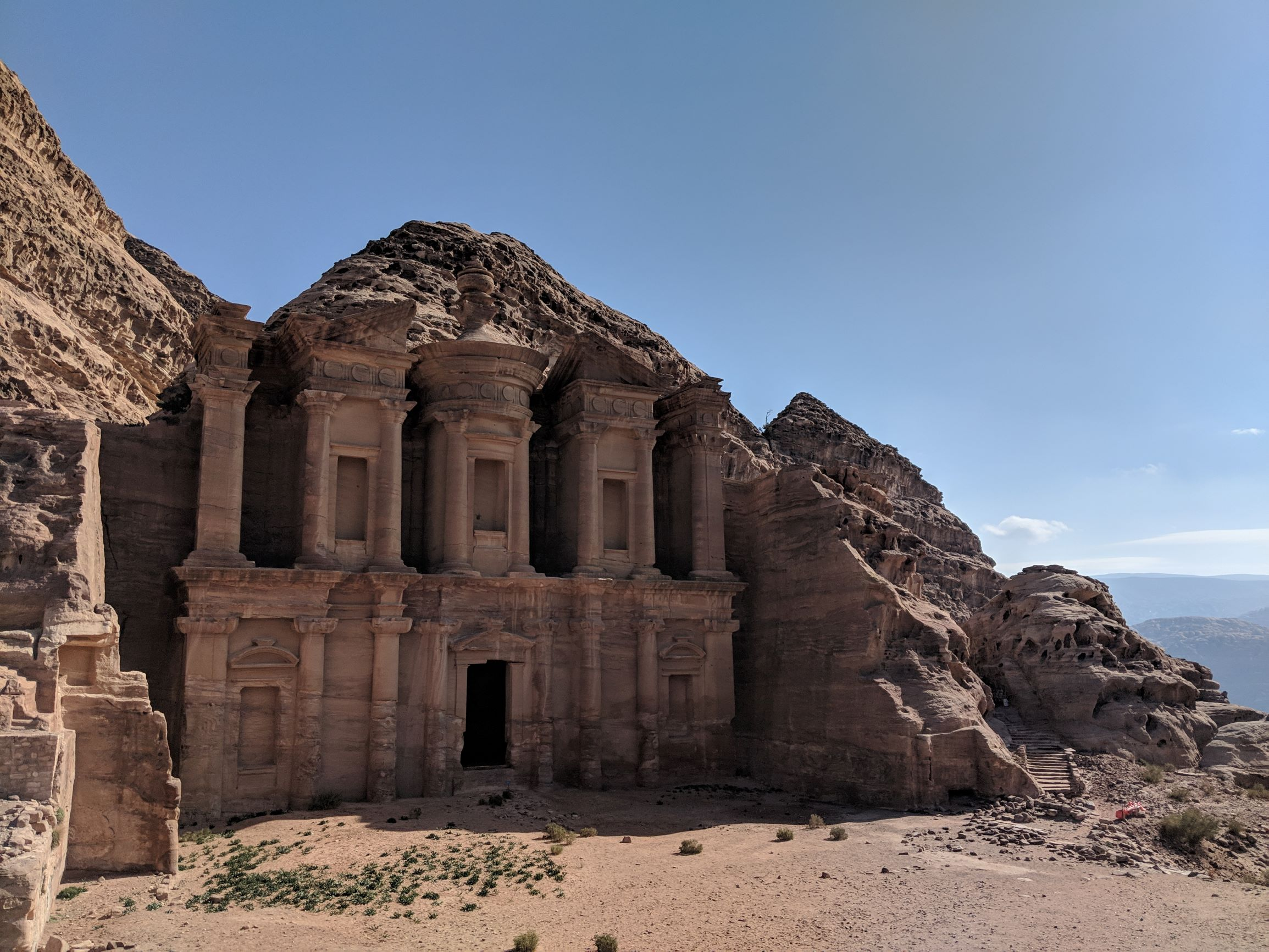 The Monastery of Petra (Al-Dayr).
