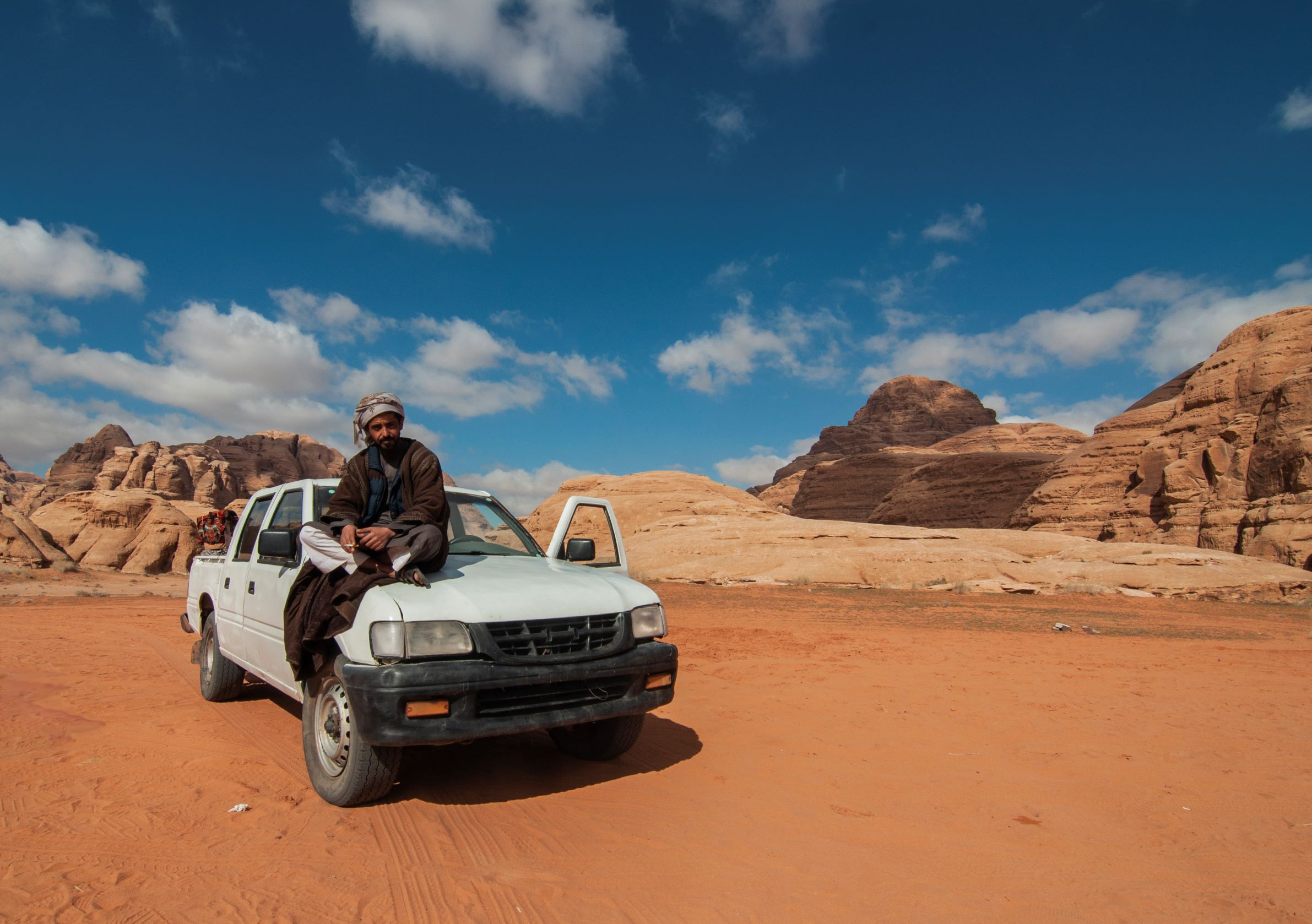 Our Bedouin guide, Wadi Rum desert.