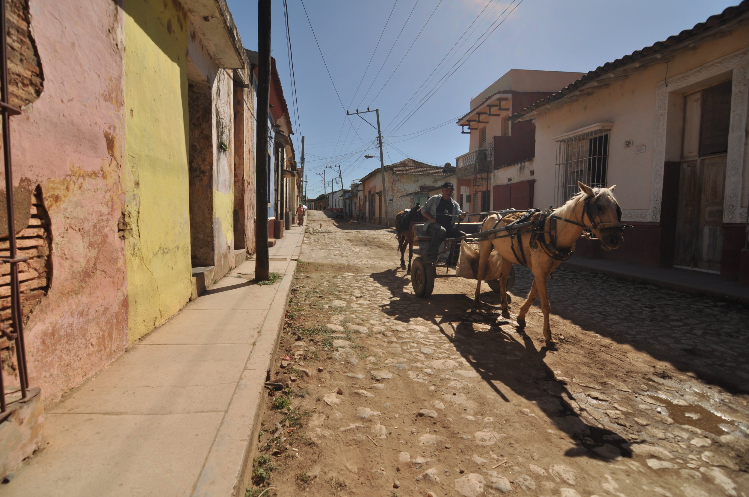 The streets of Trinidad, Cuba.