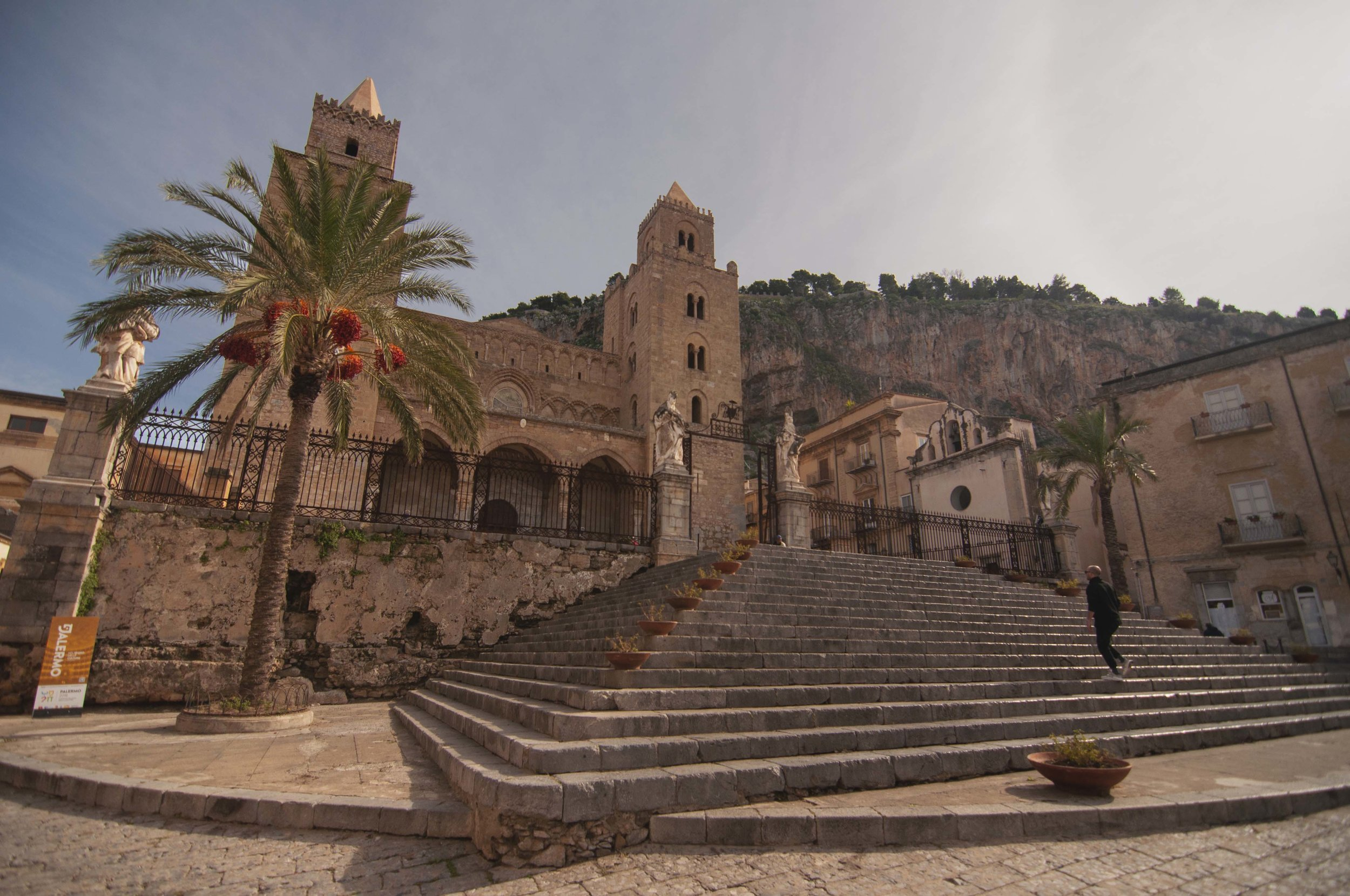 Cefalu cathedral Sicily Italy