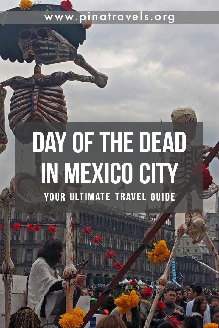 Your Guide To Celebrating Day Of The Dead In Mexico City