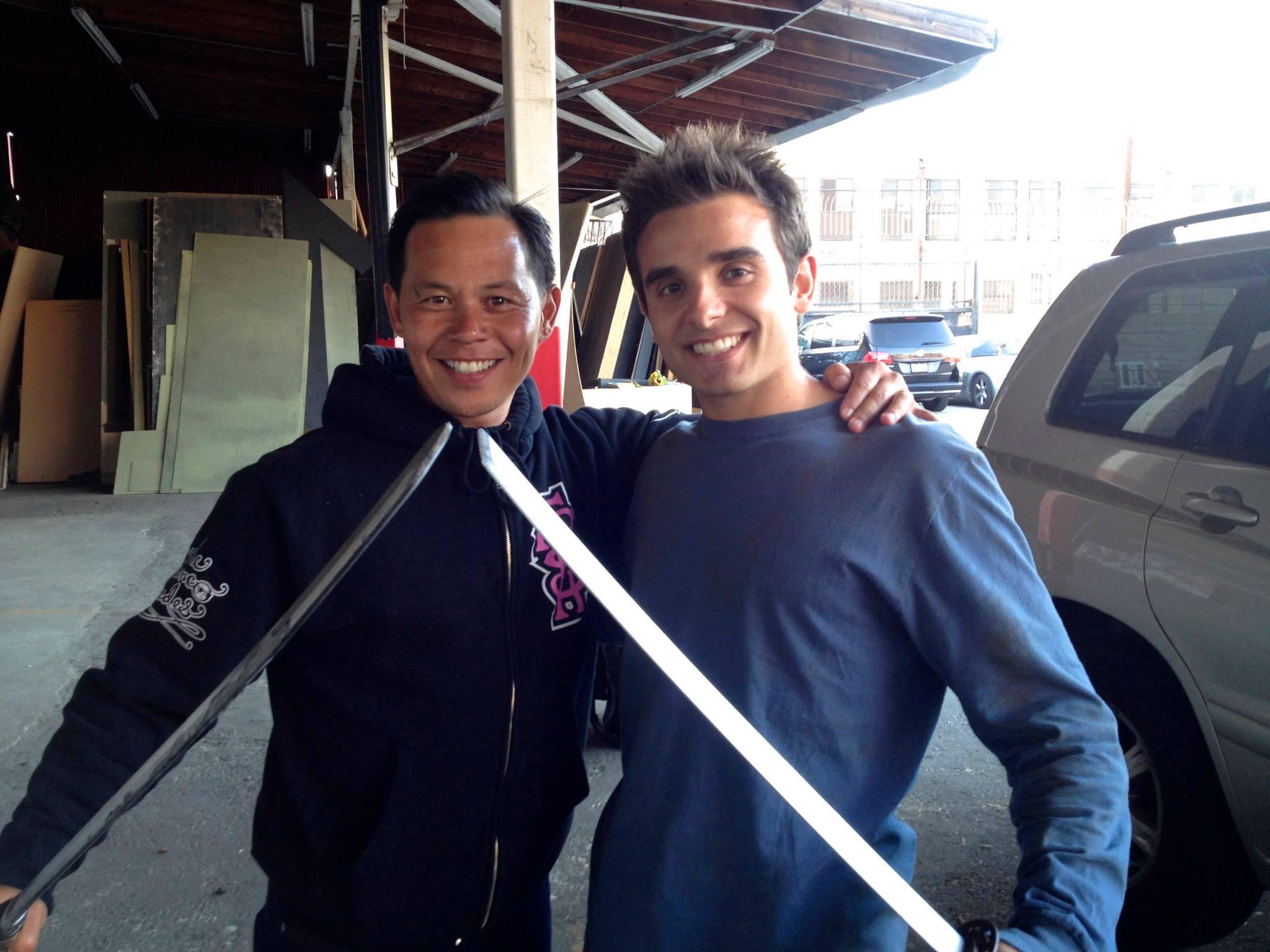 With Ernie Reyes Jr. on Ninja Apocalypse