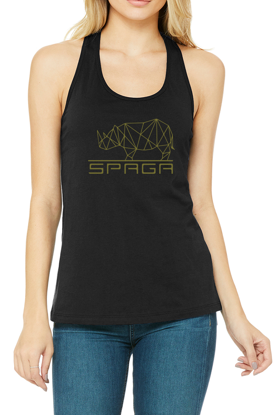 BLACK TANK GOLD LOGO