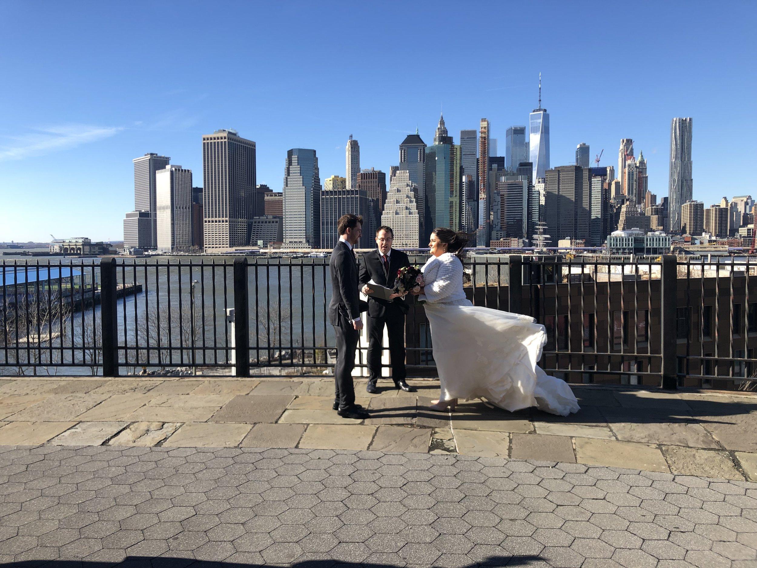 Brooklyn Heights Promenade Wedding.JPEG