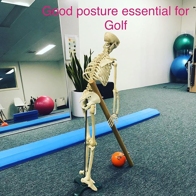 Good Posture essential for golf. Injury prevention and optimum movement mechanics for golf, learn about this and more at Functional Pilates. . . ##pilates #balance #pilatesbody #pilatesreformer #kewmums #mumslife #fitness #sportsinjuries #hawthorneast #stonnington #camberwell #functionalfitness #functionalmovement #pilateskew #kewmums #kew #hawthorn #backpain #northbalwyn #mums #reformerpilates #kewreformerpilates #hawthornpilates #pilatesbodys #golfswing #kewgolfclub #ladieswhogolf⛳️