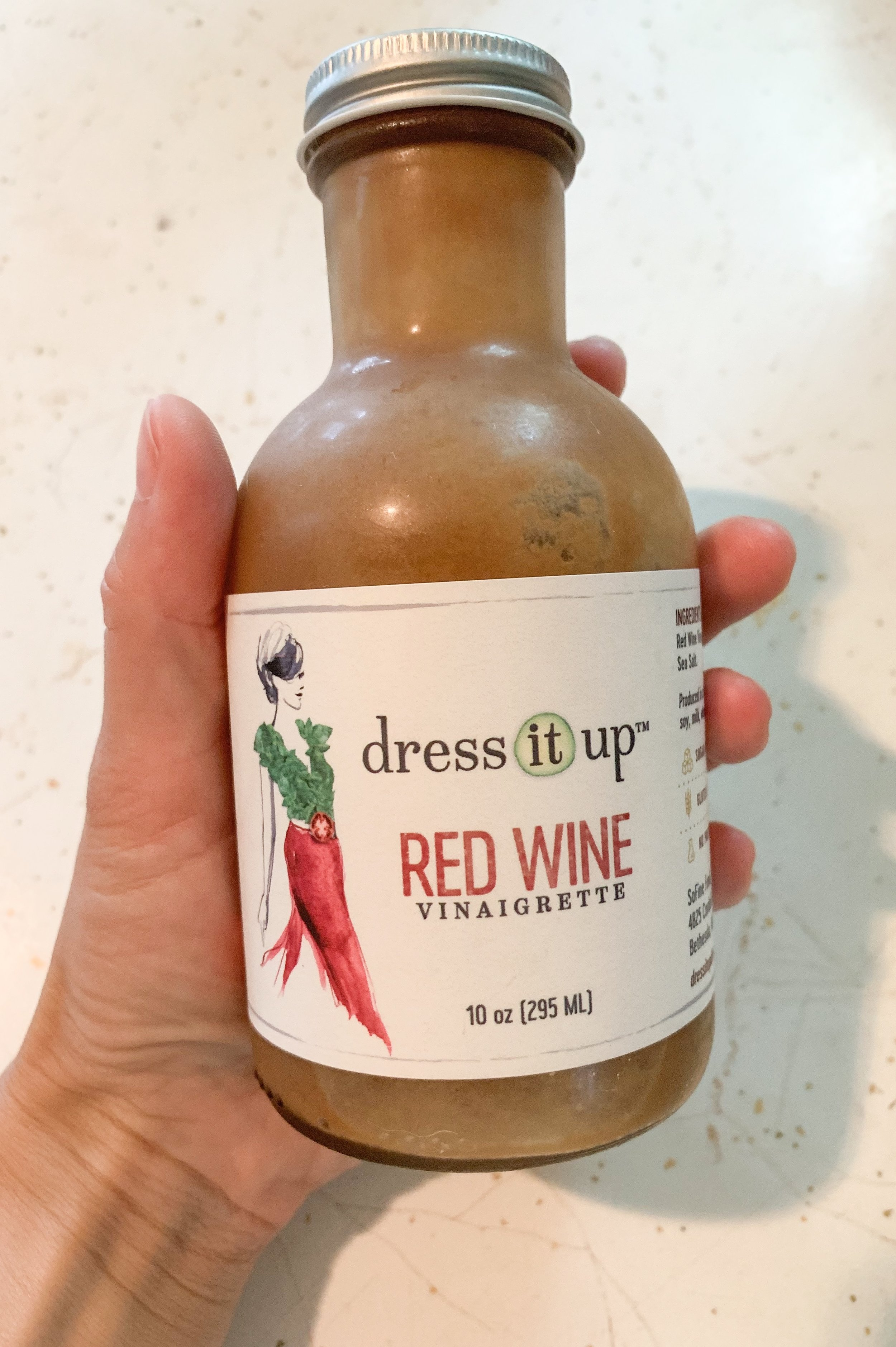 - Dress It Up Dressing Red Wine Vinaigrette