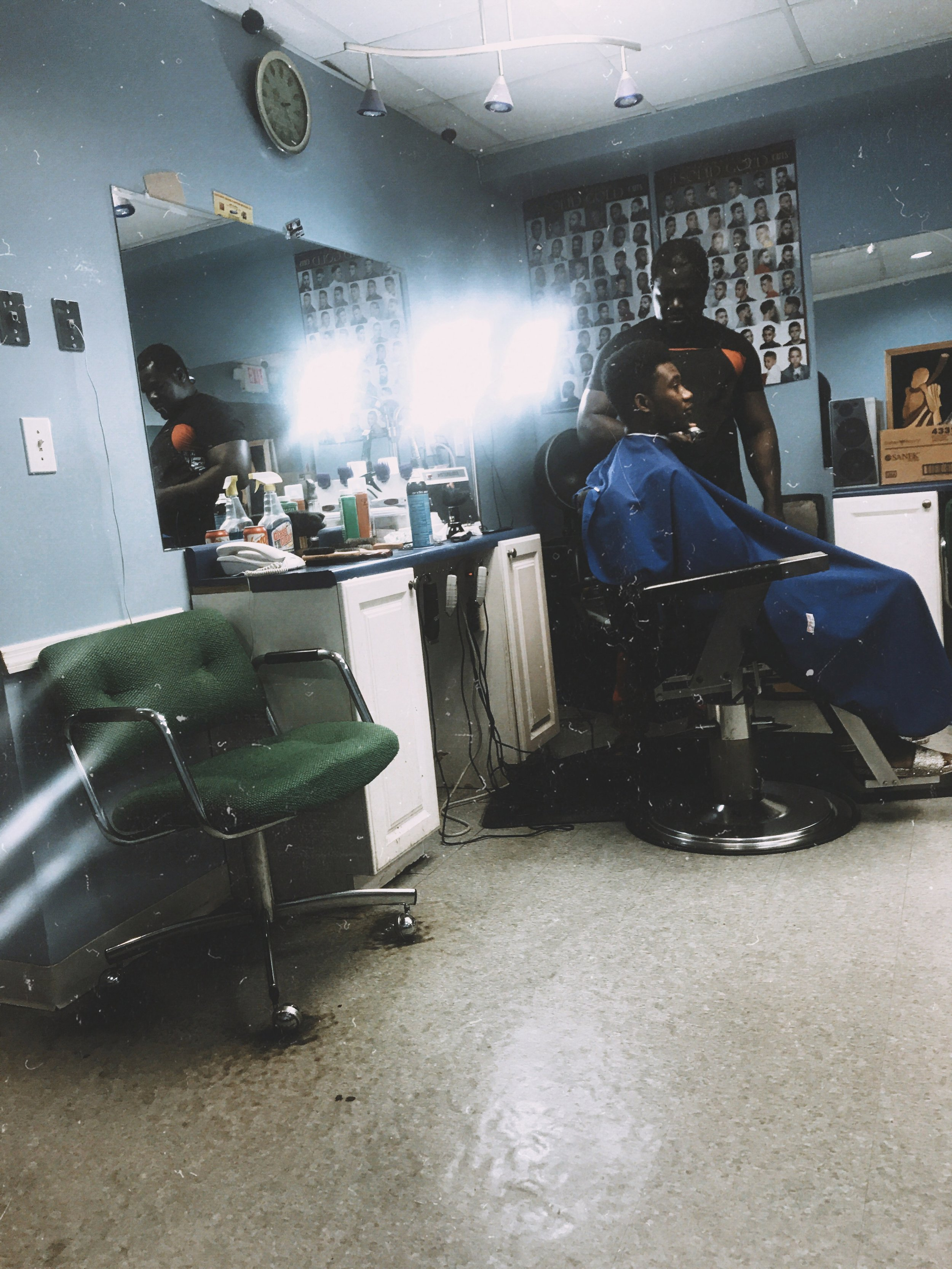 Eunice's African Market/Salon and Barbershop — Hamilton Street.