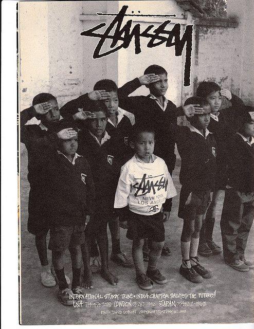 Stussy Ad 1990 — Thrasher Magazine.