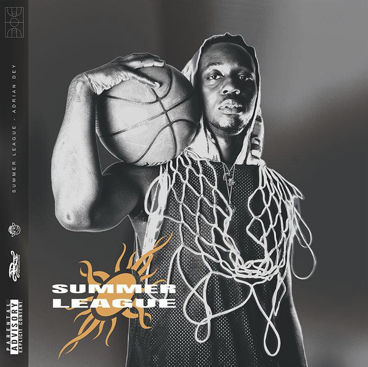 Adrian Dey -  Summer League EP  cover.