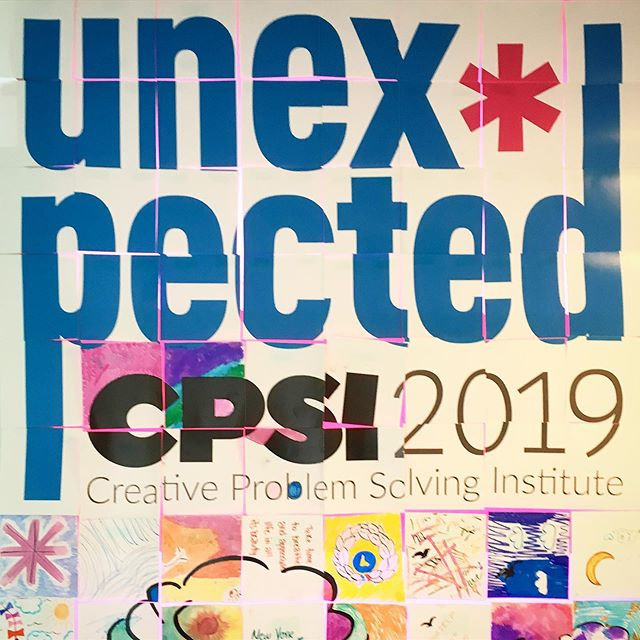 So many #unexpected things this week at #cpsiconference! Kudos to the staff and volunteers who made the experience unique. @cef_cpsi . . . . #cpsi2019 #cpsiconference #creativitysummercamp  #creativeproblemsolving #cps #creativity #flamingo @swedishfish @seedstrategy