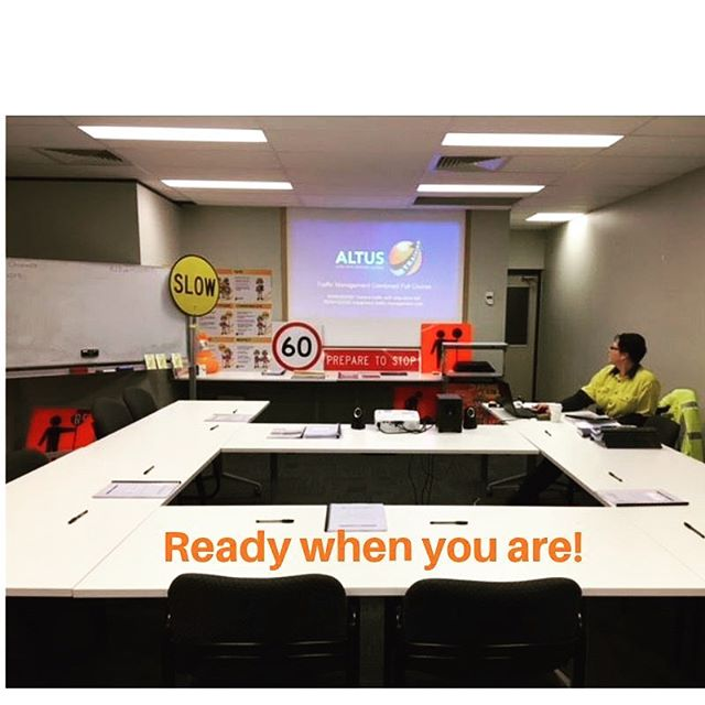 Have you booked your refresher yet? Traffic Management refresher training running at our new Laverton North depot. 29th May 2019. Book online or contact us on 1300 725 483 to make a booking! RTO#41594 #trafficcontrol #trafficmanagement