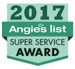 Angie's Super Service Award 2017