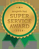 Angies super service award 2014
