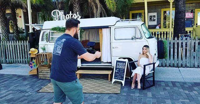 Making movies in downtown St Augustine!! . . . . . .  #bride #groom #wedding #love #weddingday #weddinginspiration #weddingparty #photobooth #photography #staugustineweddings #stafla #staugustinebeach