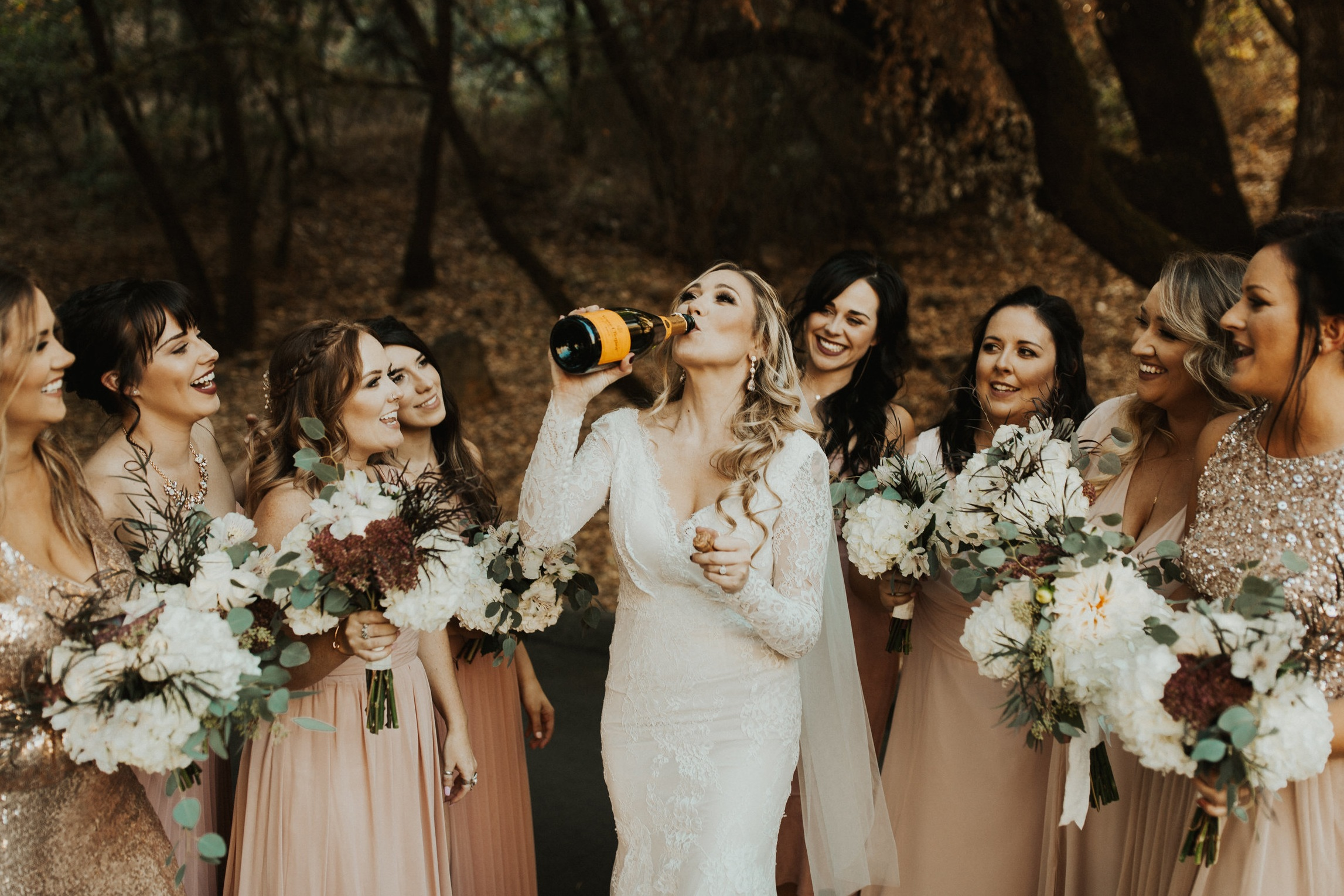 Cheers, ladies! - Wedding planning with ease, organization, clarity, and we cannot forget fun! Cheers to sipping mimosas while you enjoy the beauty of wedding planning.