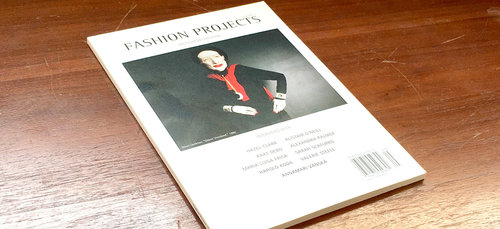 The most recent issue of  Fashion Projects.