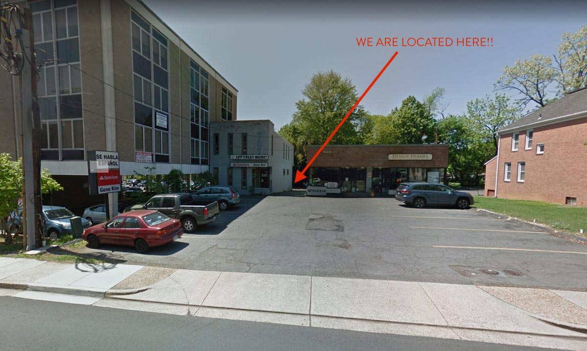 Location - We are located behind State Farm Insurance. To avoid several stairs on the back side you are also welcome to come in through State Farm.Please call for any questions.
