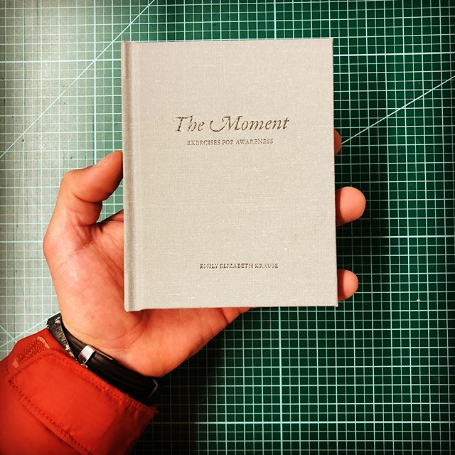 The Moment. A well designed book  by @khromaticmedia. We hope your project went well! Thanks for choosing BCR Bookbinding.  #georgemason #books #cometobcr #bcrbookbinding #BCR #bookstagram #book #booknerd #bookworm #bookme #books #georgemasonuniversity