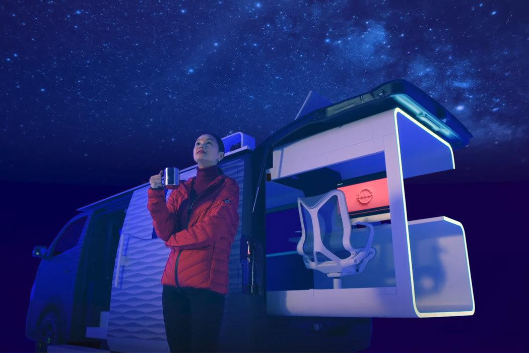 The Nissan Caravan Office Pod — Motourly
