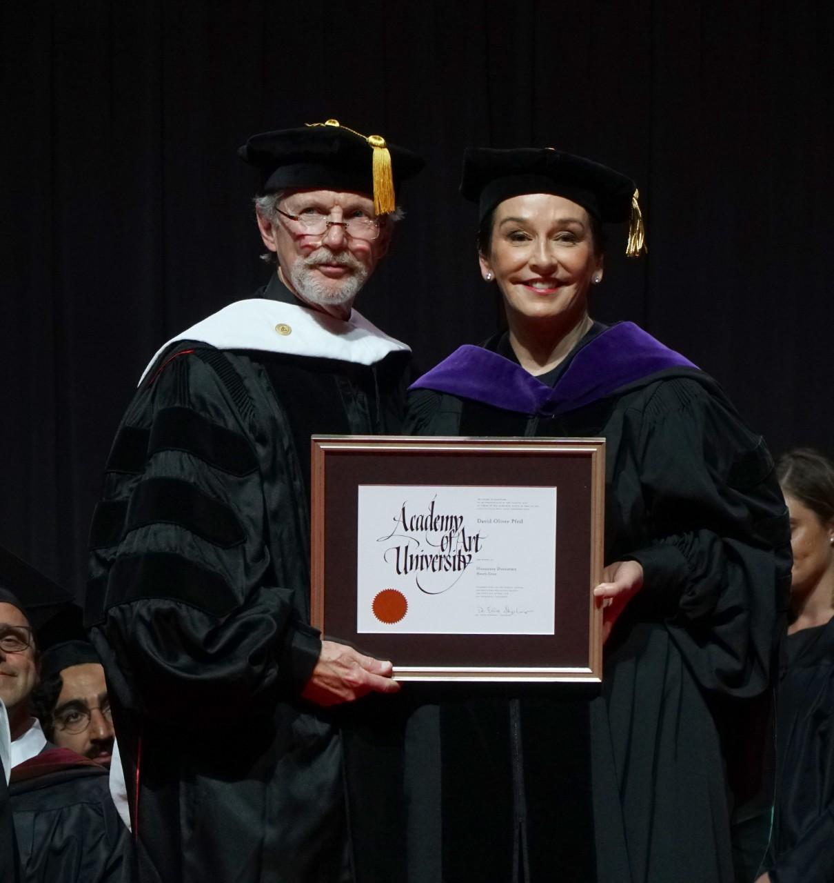 2018 Honorary Doctorate Recipient: David Pfeil- Academy of Art University