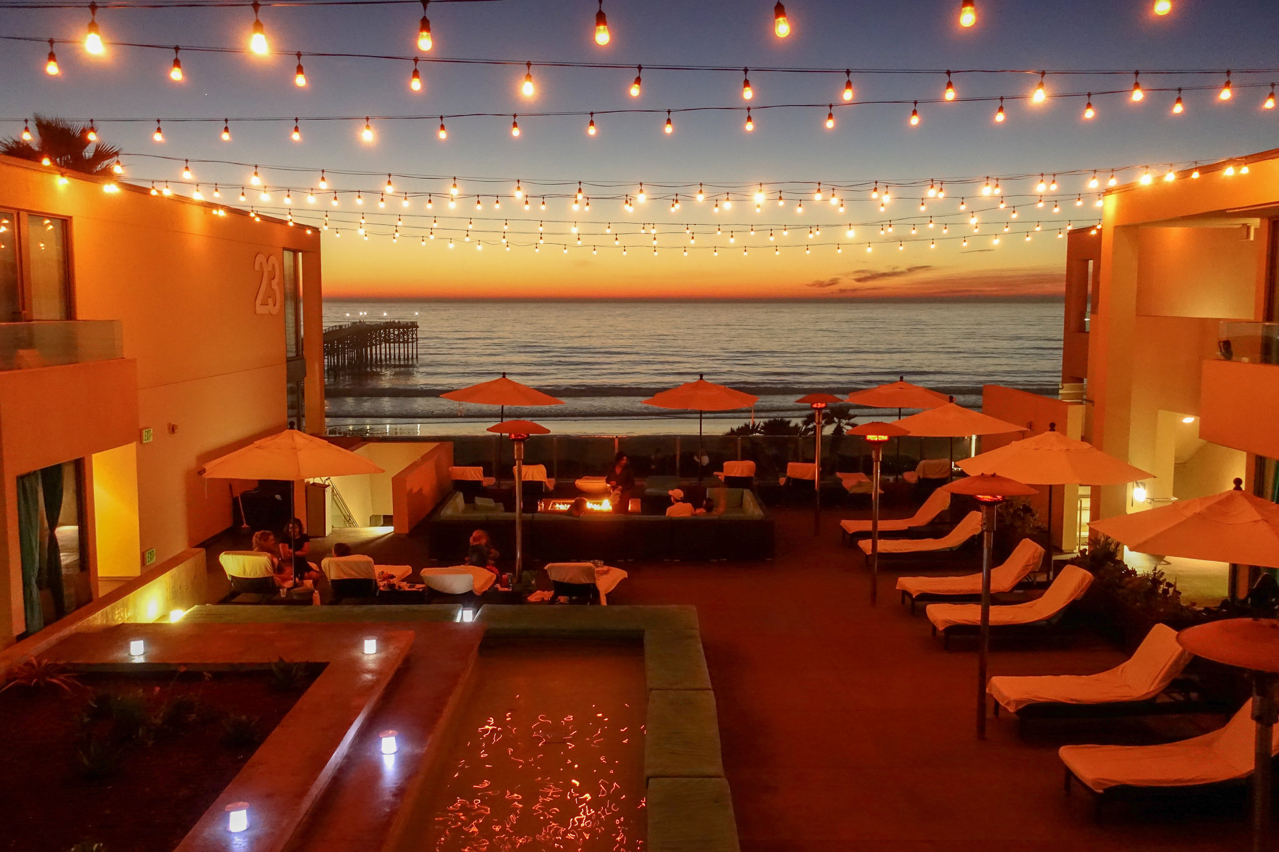 On a weekend escape to Pacific Beach, you can party on the boardwalk and chill on the bay- Los Angeles Times