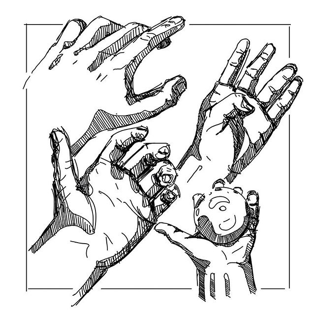 Who knew I had so many hands lying around. • • #sketchbook  #sketch #sketching #designsketch #design #designer #industrialdesign #productdesign #sketchaday #designoftheday #illustration #procreate #hands
