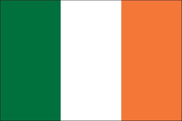 The Irish Flag was devised to recognise all the traditions on the island. Green for the indigenous, Orange for those whose forefathers largely came from Scotland & England and colonised the land. White... is for PEACE