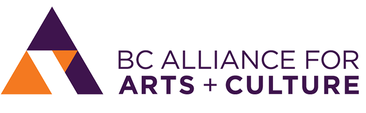 Session sponsored by the BC Alliance for Arts + Culture