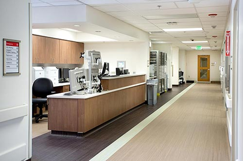 Adventist Health intensive care unit - Photography forAdventist Health Selma