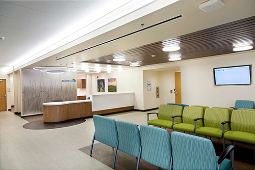 Adventist HealtheMERGENCY ROOM - Photographed in Selma forPERKINS-EASTMAN ARCHITECTS