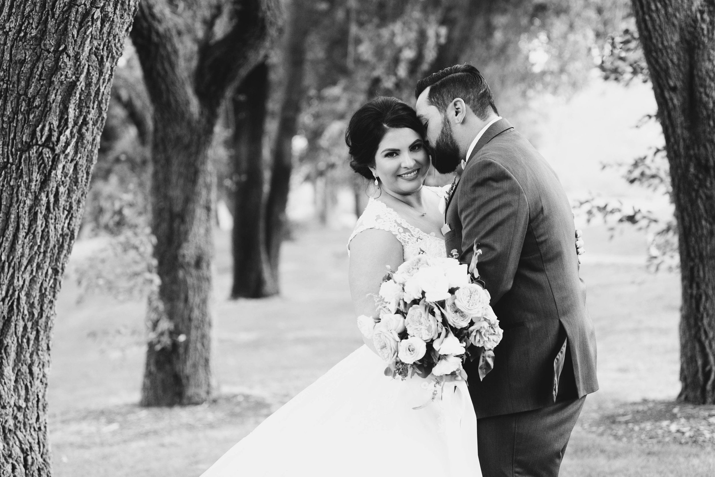 """""""When it came to our wedding day, she captured it in ways I didn't even know possible – such beautiful photos of our most intimate moments."""" - – Meghan + Nick"""