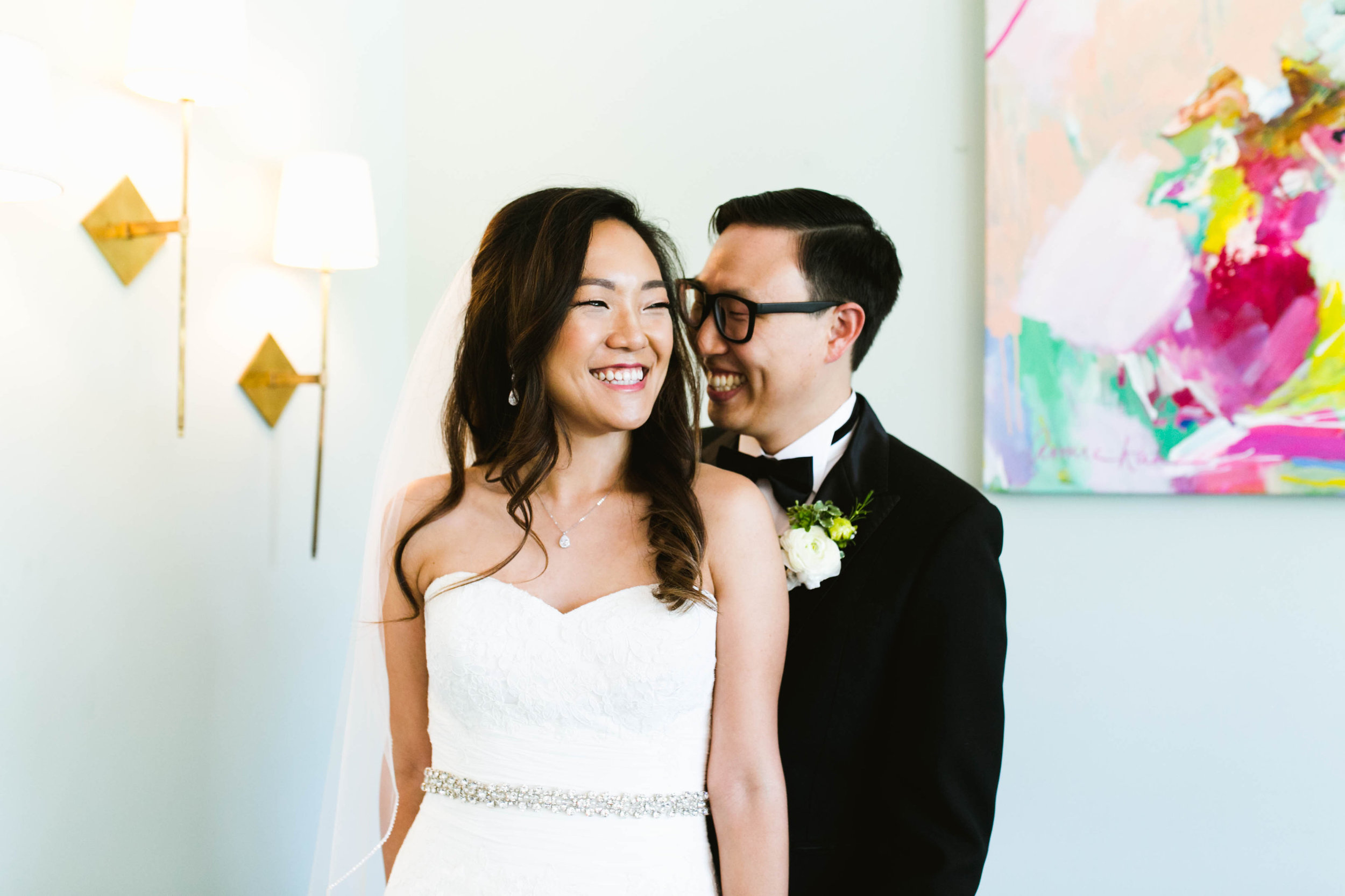 """Kathy is professional and highly responsive. I felt like she was with me every step of the way through my wedding planning."" - – Rebecca + Eugene"