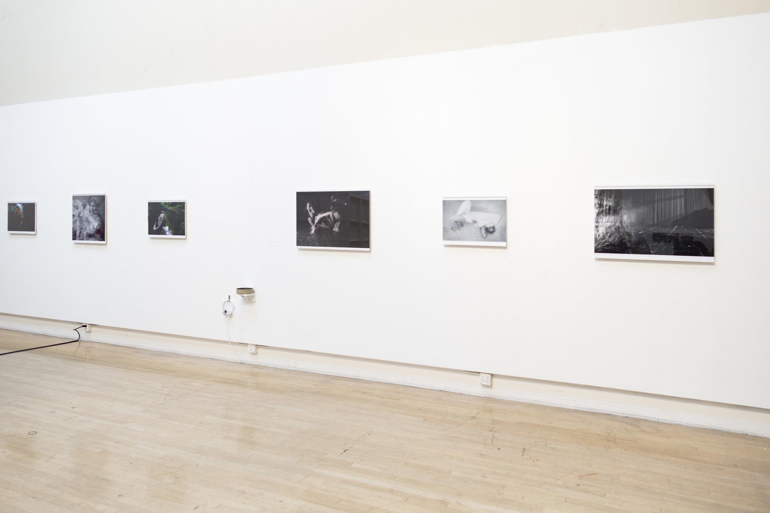 Photographs and sound installation by Vivian Vivas