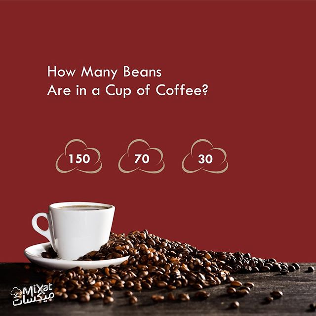 . Guess how many beans in a cup of coffee and win amazing surprises. Winner will be announced after 1 week. . Location: Al-Semqaniah, Shouf – Main Road – Al Nojoum Center Mobile: 70 279 232 . #mymixat #mixatroastery #roastery #coffee #lebanon #Shouf #mount_lebanon #semqanieh