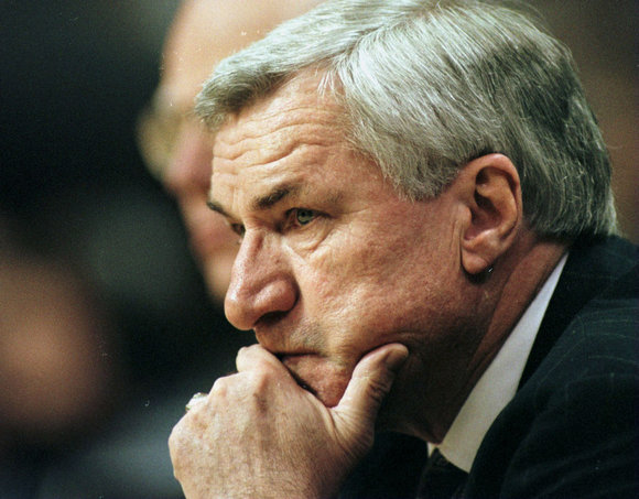 Dean Smith, Former Coach of the UNC Basketball Team