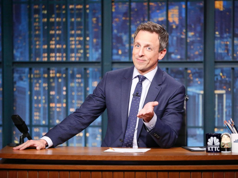Seth Meyers, Telivision Host and Actor