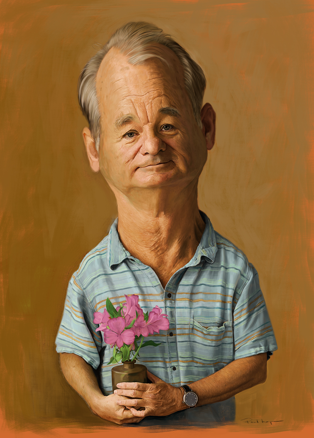 Bill Murray Print - Image size 30 x 42cmBorder size 15mmOpen EditionPrinted on Hahnemuhle Photo Rag Fine Art Paper£75 + shipping