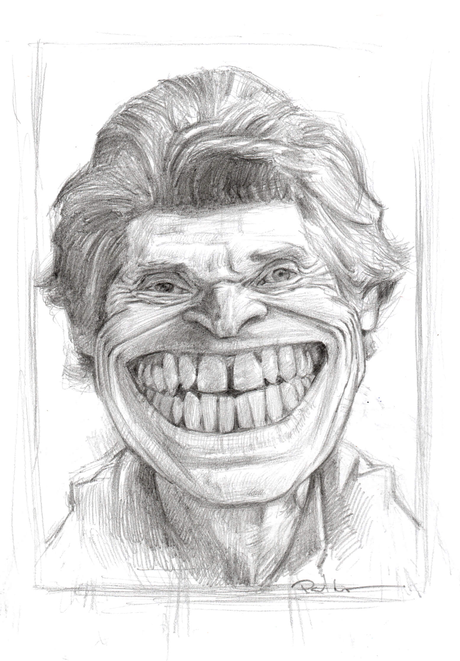 Willem Dafoe - Pencil on PaperImage size 120x160mm£75