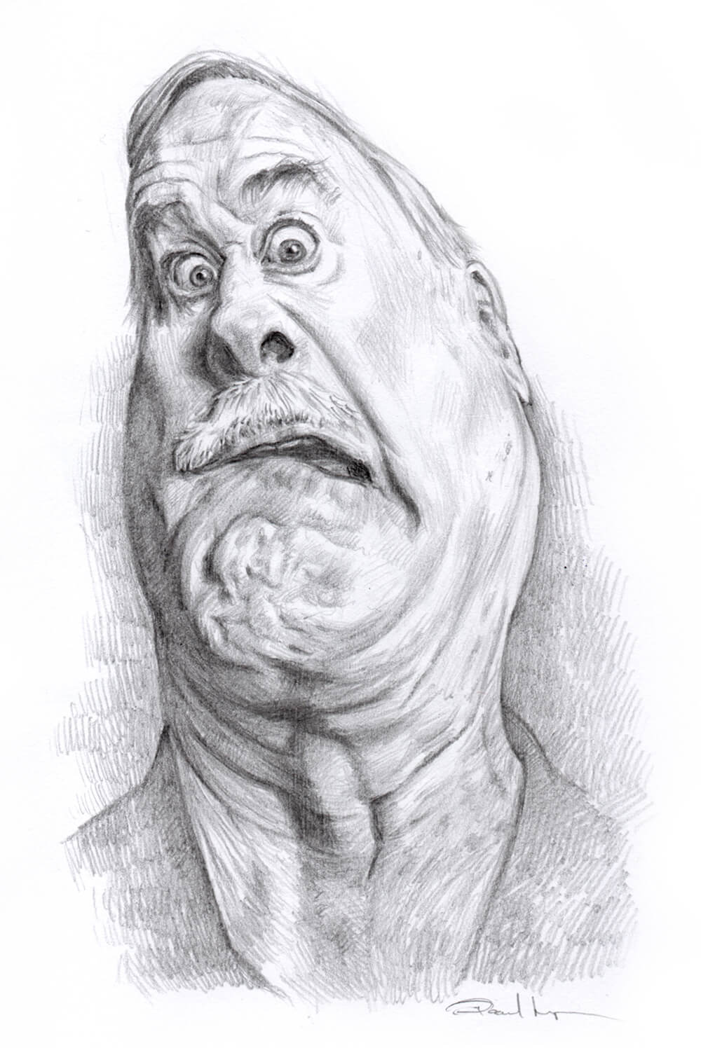 John Cleese - Pencil on PaperImage size 110x180mm£75