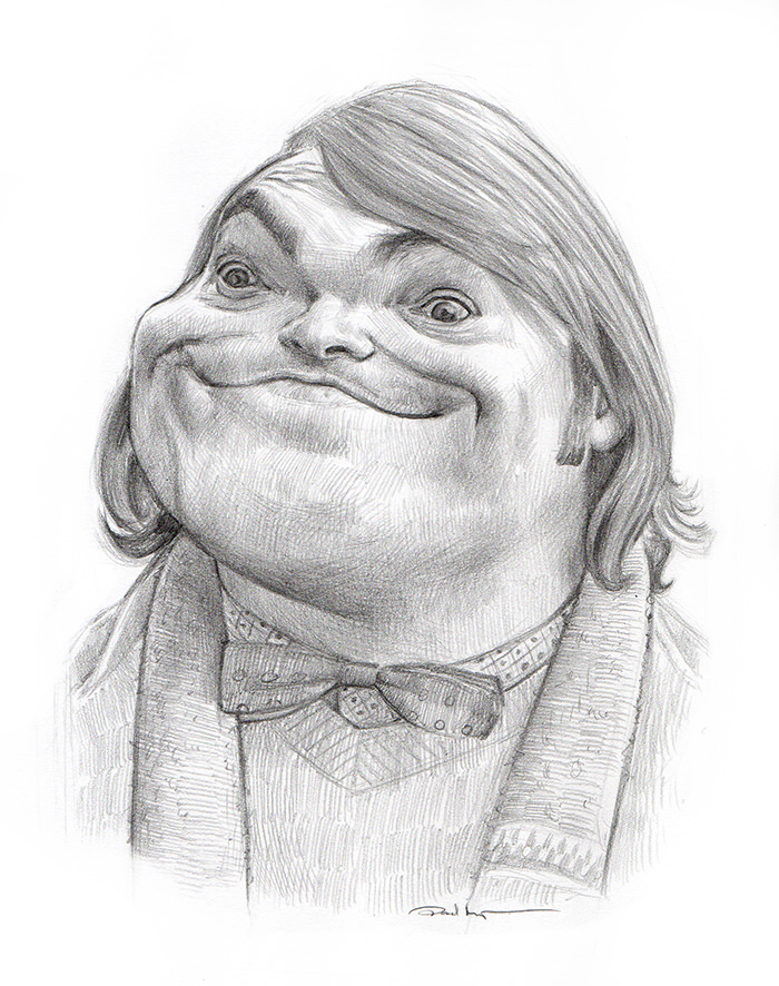 Jack Black - Pencil on PaperImage size 160x200mm£75