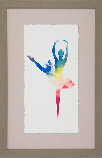 'Ballerina Colours III' by  Camelot