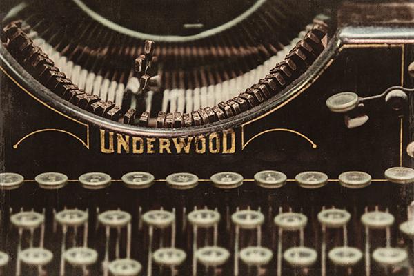 'Typewriter' artwork by  PI Creative Art
